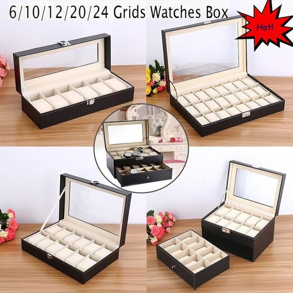 case, Box, leatherwatchcase, leather