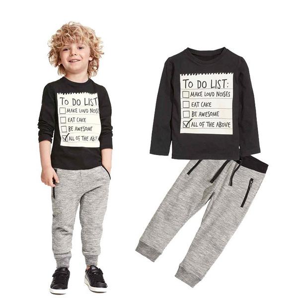 Boy, Set, Clothes, for