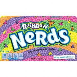 Box, rainbow, candie, Snacks