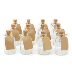 Mini, Jars, Glass, Home