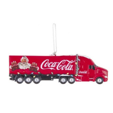 Ornament, Christmas, Truck, Coca Cola