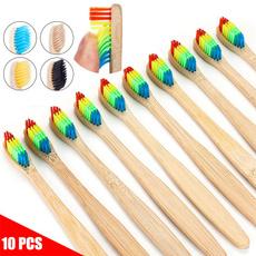 toothbrushe, rainbow, multicolortoothbrush, disposabletoothbrush