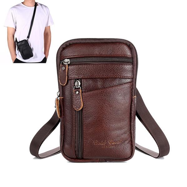 Shoulder Bags, Bags, leather, Men
