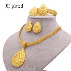 Bridal, womenampgirlsampampampampladiesjewelryset, Bracelet, 24-k
