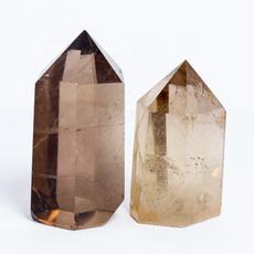 crystalpoint, quartz, teacolouredcrystalwand, healingenergy
