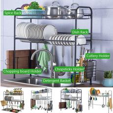 Steel, Kitchen & Dining, cutleryrack, sinkfilter