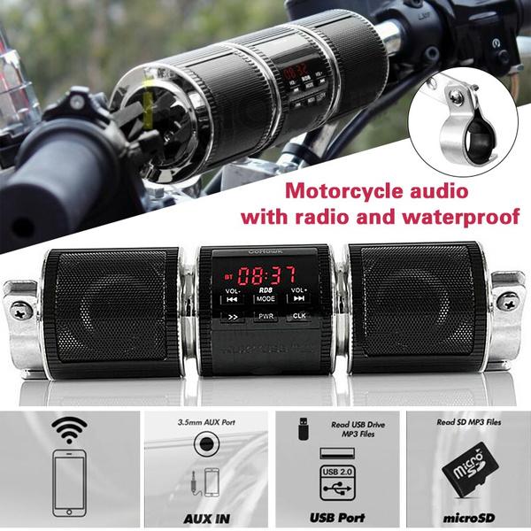 motorcyclestereospeaker, usb, motorbikespeaker, Waterproof