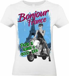 camiseta, mujer, Shirt, vacacione