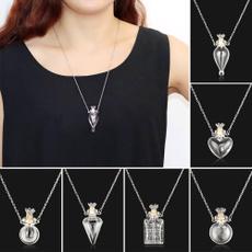 Steel, Heart, Jewelry, Chain