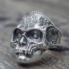 ringsformen, Goth, Men, Stainless Steel
