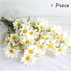 Home & Kitchen, Flowers, artificialdaisyflower, silkflowerhead