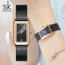 Square, gold, for, Clock