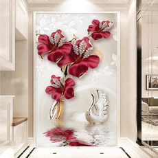 butterfly, living, Decoración, Flowers