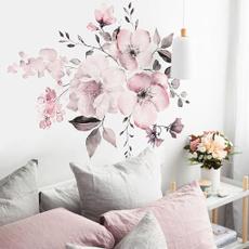 pink, Decor, Flowers, art