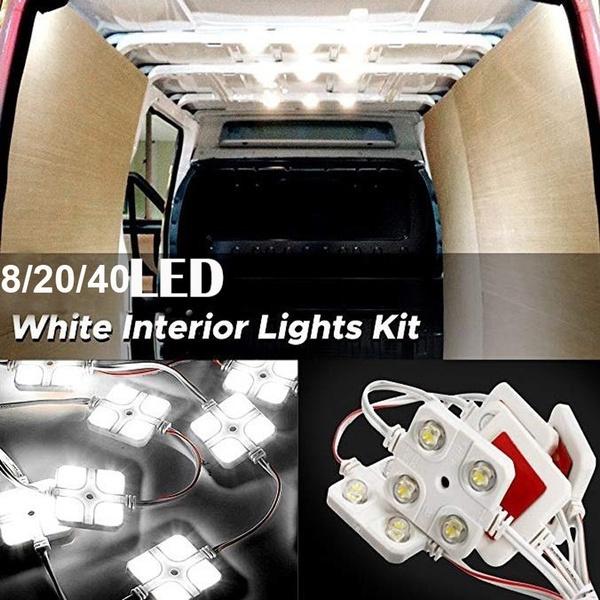 led, autodecoration, whiteinteriorlight, lorrylighting