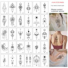 tattoo, tattoostickersformenandwomen, cute, Geometry