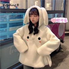 Kawaii, cute, hooded, for