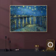 Kitchen, Decor, starrynightontherhoneriver, art