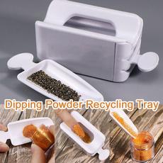 Box, nailpowderrecyclingtray, Beauty, nailsequinglitterstoragebox
