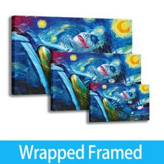 art print, Joker, canvasprint, Home Decor