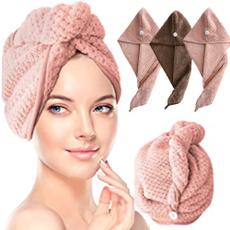 microfibertowel, hair, hairdrycap, hairdrytowel