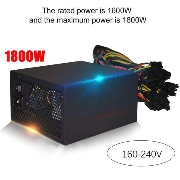 graphicscard, 1200wpowersupplie, bitcoinminer, Power Supply