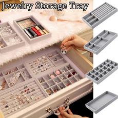 Storage Box, drawerorganizer, velvet, Jewelry