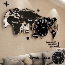 Home & Kitchen, Decor, clockwallsticker, wallclockslarge