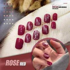 nail decoration, Nails, nail stickers, eye