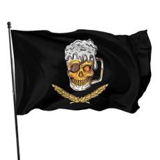 polyesterflag, Fashion, skull, Mug