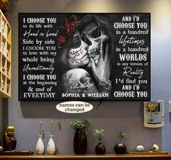 sugarskulllovergift, skull, skulllovergiftidea, Posters