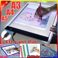 Box, artscraftssupplie, led, usb
