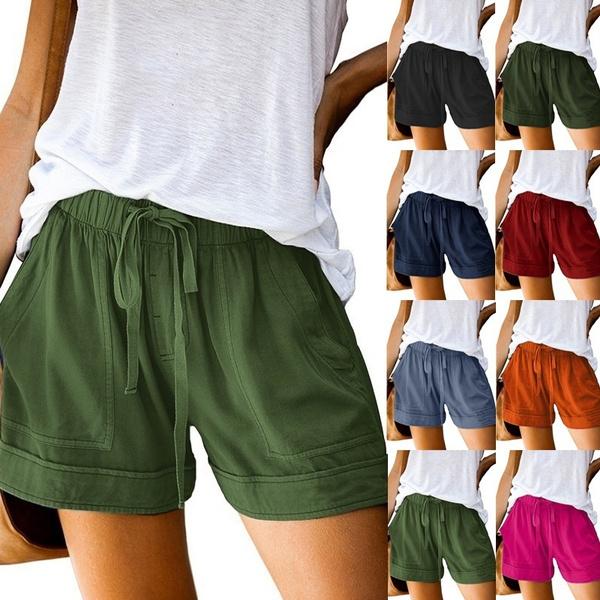 Pocket, Summer, Women's Fashion, Shorts