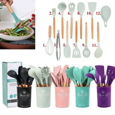 Kitchen & Dining, utensiliosdecocina, nonstick, Silicone
