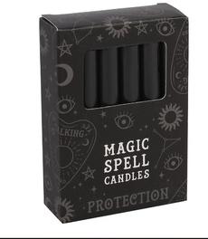 Candle, Magic, black