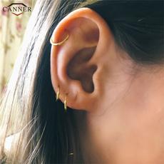 namecanneridcircle, name55idhoop, Hoop Earring, Jewelry