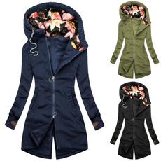 Jacket, Fashion, Floral, Winter