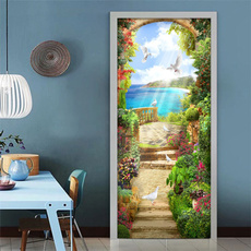 living, Door, Garden, for