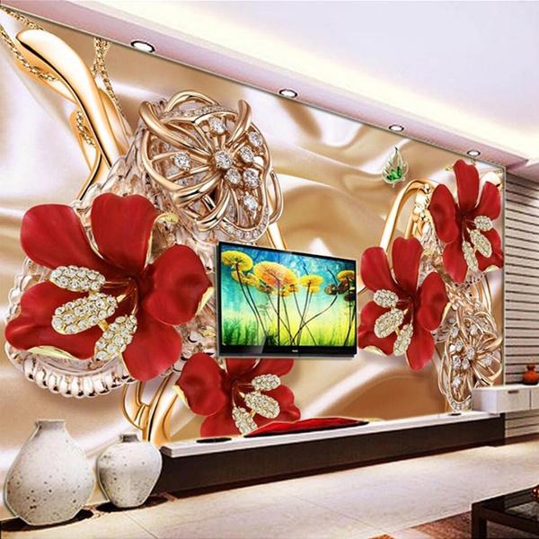 living, Flowers, Jewelry, TV