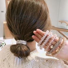 Crystal, scrunchie, Jewelry, Elastic