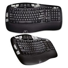 black, Logitech, Technology, wireless