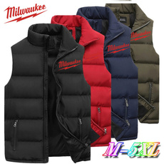 Casual Jackets, Vest, Outdoor, Cotton