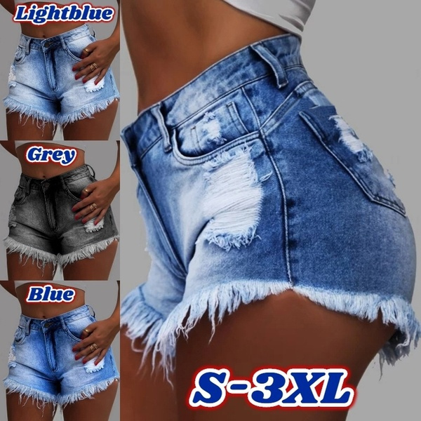 Mini, fashion women, Shorts, high waist