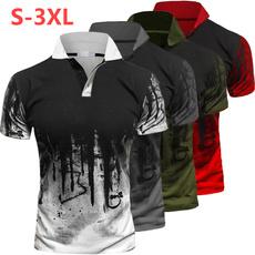 Printed T Shirts, Men's Fashion, Sleeve, menspolotshirt
