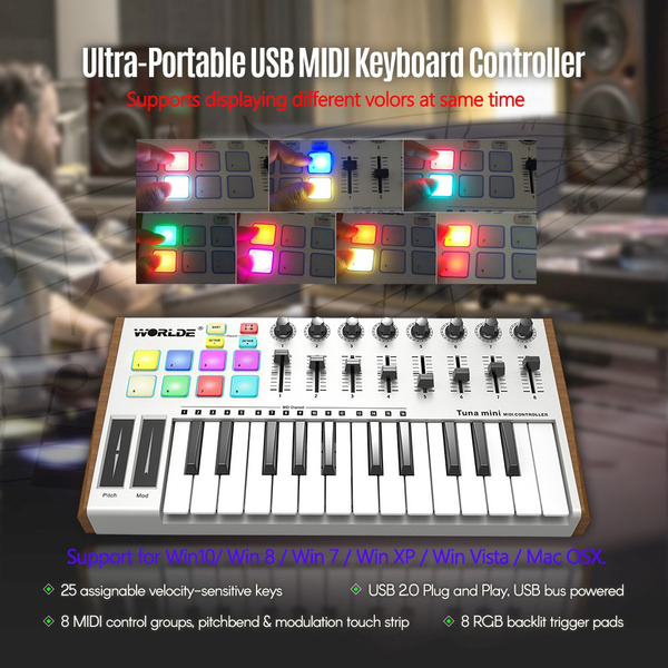 Mini, Musical Instruments, usb, midikeyboard