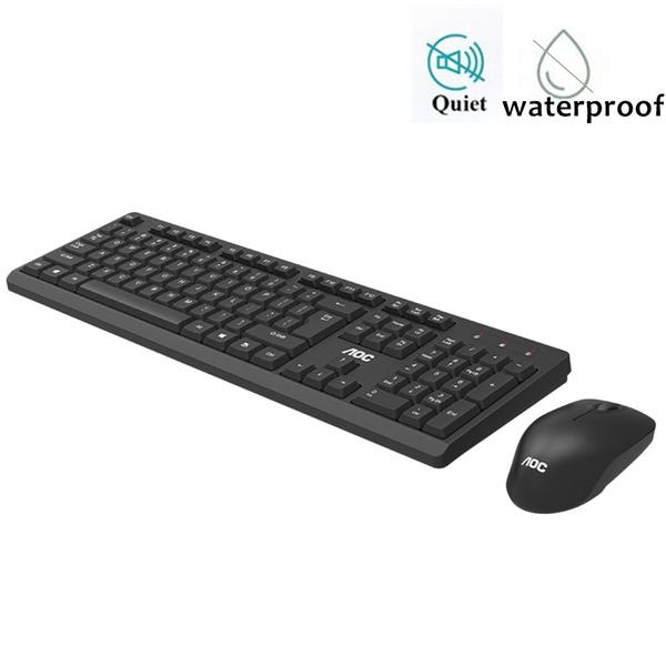 computerkeyboardmouse, Office, Waterproof, Battery