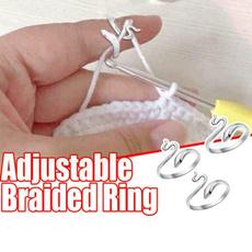 thimblering, adjustablering, Knitting, Jewelry