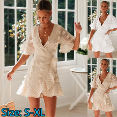 Women S Clothing, womens dresses, solidlace, Summer