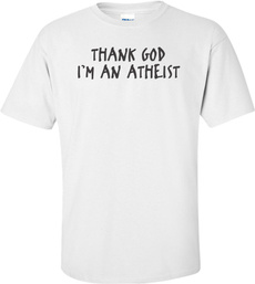 atheist, T Shirts, thank, Shirt