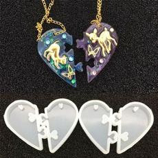 loversgift, Love, diysiliconemold, necklacependent